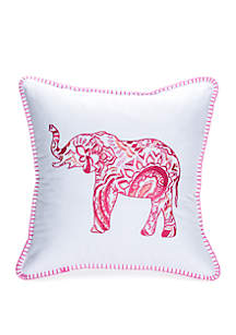 Crown & Ivy™ Lanston Elephant Throw Pillow