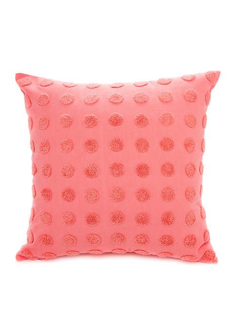 Crown & Ivy™ Pom Throw Pillow