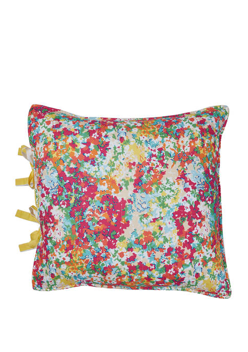 18 in x 18 in Petite Floral Pillow