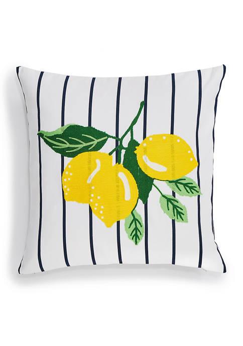 Kelsey Lemon Throw Pillow