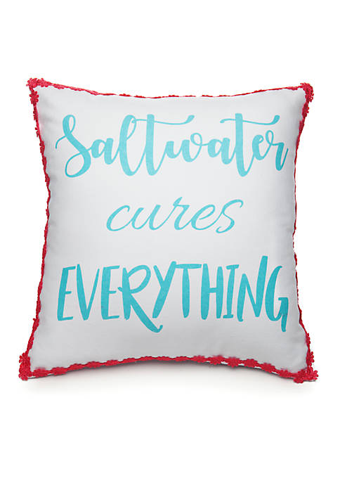 Crown & Ivy™ Saltwater Cures Pillow