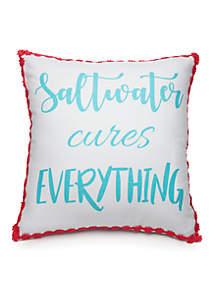 Saltwater Cures Pillow
