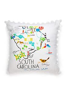 South Carolina Throw Pillow