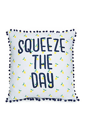 Karter Squeeze the Day Throw Pillow
