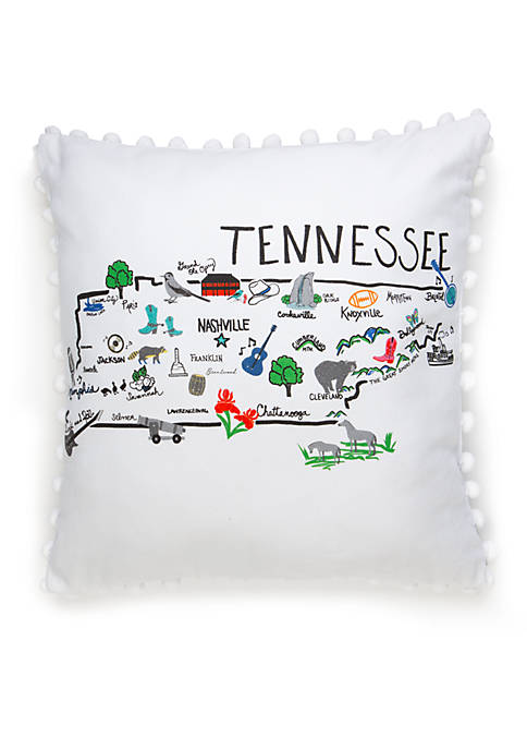 Crown & Ivy™ Tennessee Throw Pillow