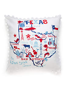 Crown & Ivy™ Texas Throw Pillow