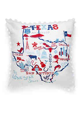 Crown & Ivy™ Texas Throw Pillow ...