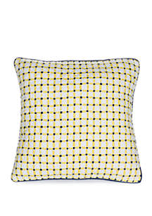 Crown & Ivy™ Willow Match Back Throw Pillow