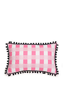 Crown & Ivy™ Zoey Flamingo Matchback Throw Pillow