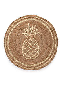 Pineapple Outline Rug
