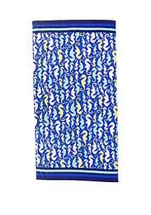 Crown & Ivy™ Printed Beach Towel