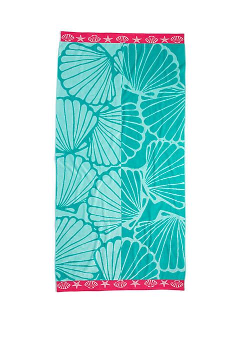 Crown & Ivy™ Jacquard Beach Towel