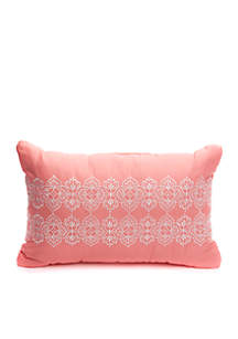 Alston Embroidered Boudoir Throw Pillow