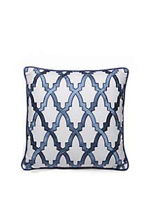 Aiken Lattice Square Decorative Pillow