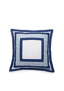 Aiken Framed Square Decorative Pillow