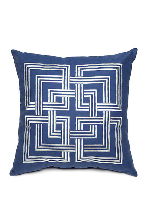 Crown & Ivy™ Avery Embroidered Throw Pillow