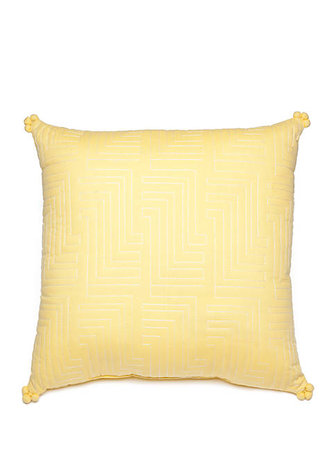 Avery Quilted Throw Pillow