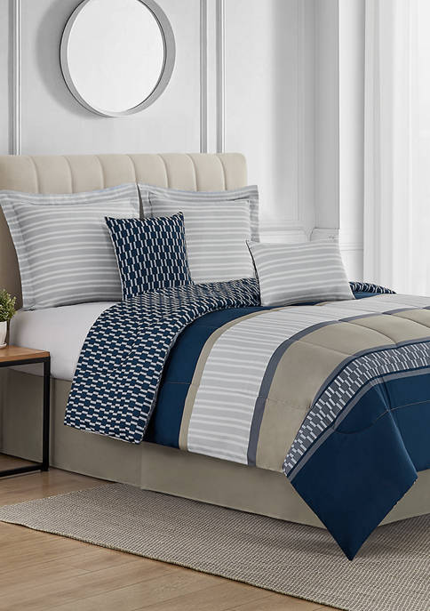 Modern. Southern. Home.™ Livingston 6-Piece Bed-In-A-Bag