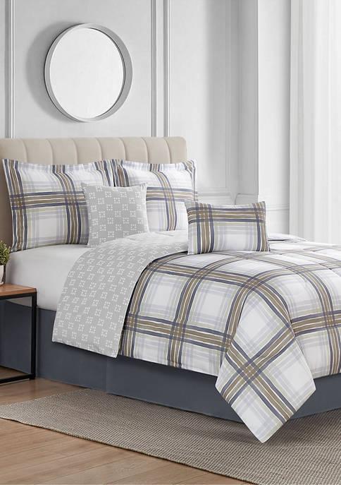 McKay Reversible 6 Piece Comforter Set