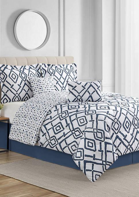 Giovanni 6 Piece Comforter Set