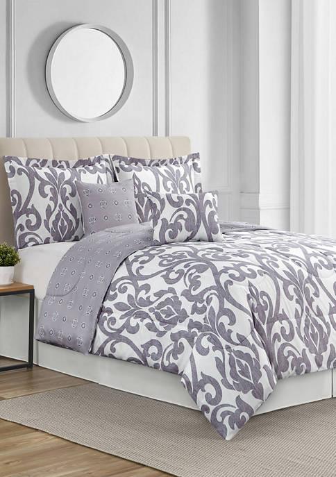 Vendome 6 Piece Comforter Set