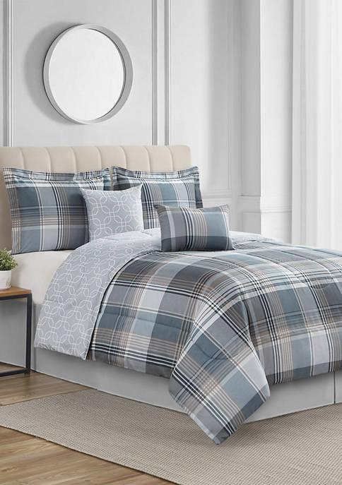 Alderpoint 6-Piece Reversible Comforter Set