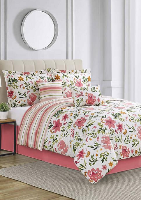 Modern. Southern. Home.™ Hebron 6-Piece Reversible Comforter Set