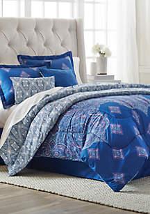 Tricia 6-Piece Queen Comforter Bed-In-A-Bag