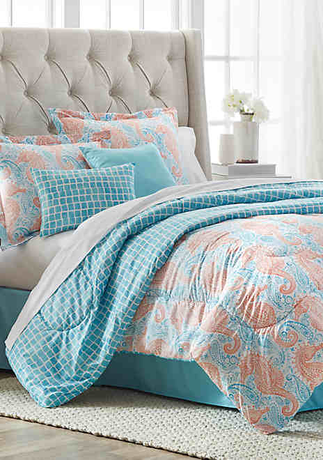 Southern. Home Seaesta 6-Pc. Comforter Bed-In-A-Bag