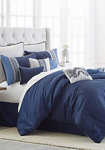 Cascades 10-Piece Comforter Bed-In-A-Bag