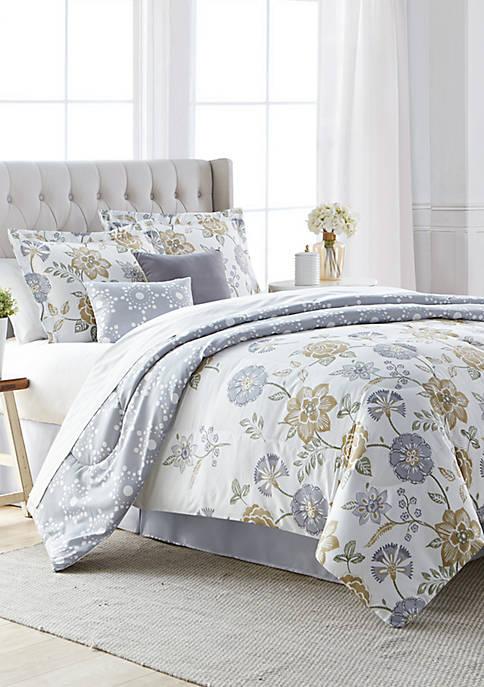 In Bloom Reversible Comforter Set