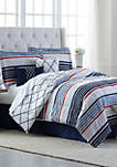 Aiden 6 Piece Comforter Bed in a Bag Set