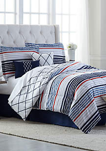 Modern. Southern. Home.™ Aiden 6 Piece Comforter Bed in a Bag Set