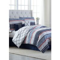 Deals on Modern Southern Home Aiden 6 Piece Comforter Bed in a Bag Set