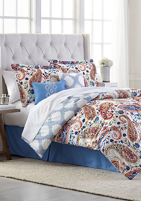 Modern. Southern. Home.™ Ireton Reversible 6 Piece Comforter