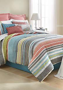 Barlow 10-Piece Comforter Bed-In-A-Bag
