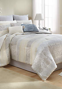 Corinna 10-Piece Comforter Bed-In-A-Bag
