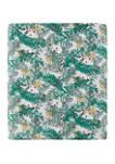 Printed Flannel Sheet Set- Fir Branch
