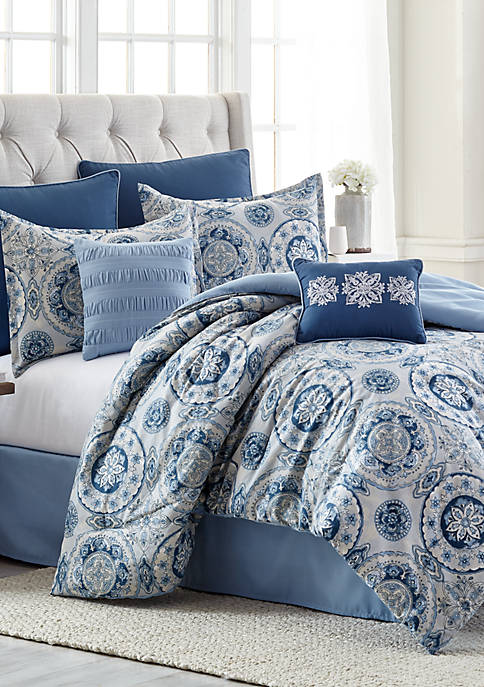 Modern. Southern. Home.™ Anita 8-Piece Comforter Bed-in-a-Bag