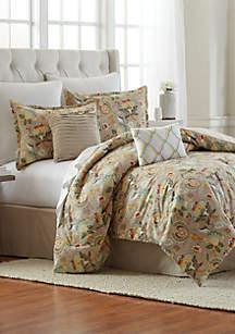 Lillian 8-Piece Comforter Bed-In-A-Bag Set
