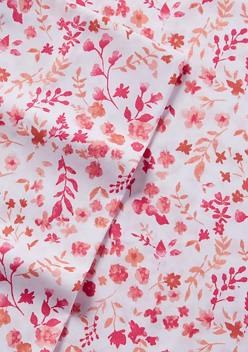 Floral Microfiber Sheet Set