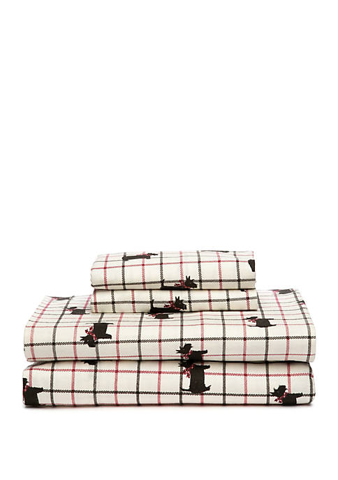 Modern. Southern. Home.™ Scottie Dog Printed Sheet Set