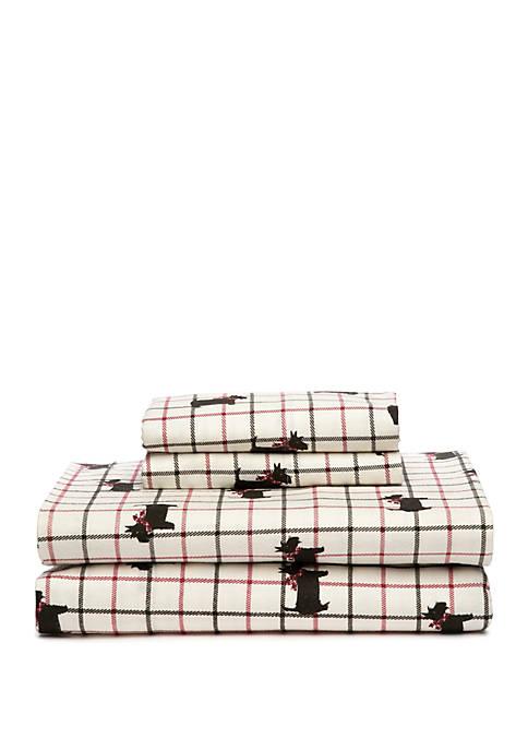 Scottie Dog Printed Sheet Set