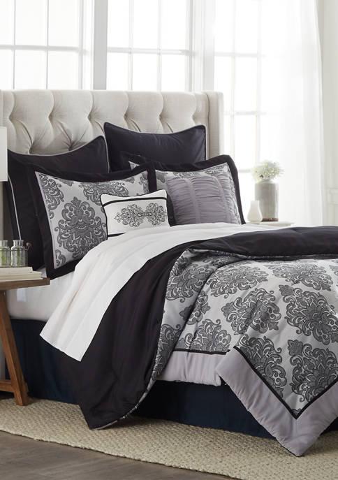 Crofton 8 Piece Comforter Set