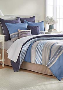 Hollis 8-Piece Comforter Bed-In-A-Bag