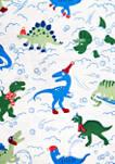 Dinosaur Printed Flannel Sheet Set