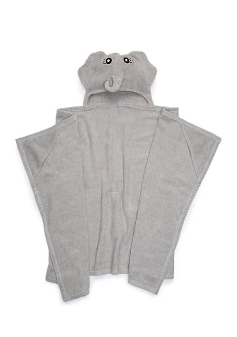 Lightning Bug Elephant Hooded Bath Towel