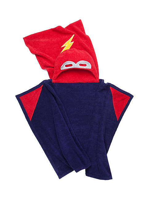 Superhero Hooded Bath Towel