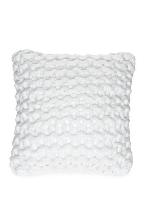 Madison Asher Chunky Knit Throw Pillow
