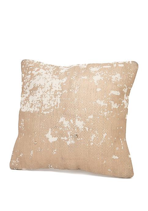 Karris Gold Foil Printed Throw Pillow